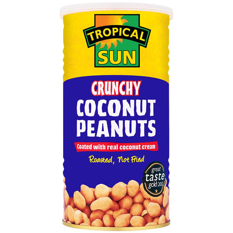 Tropical Sun Coconut Peanuts Tin 330g