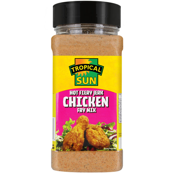 Hot Fiery Jerk Chicken Fry Mix