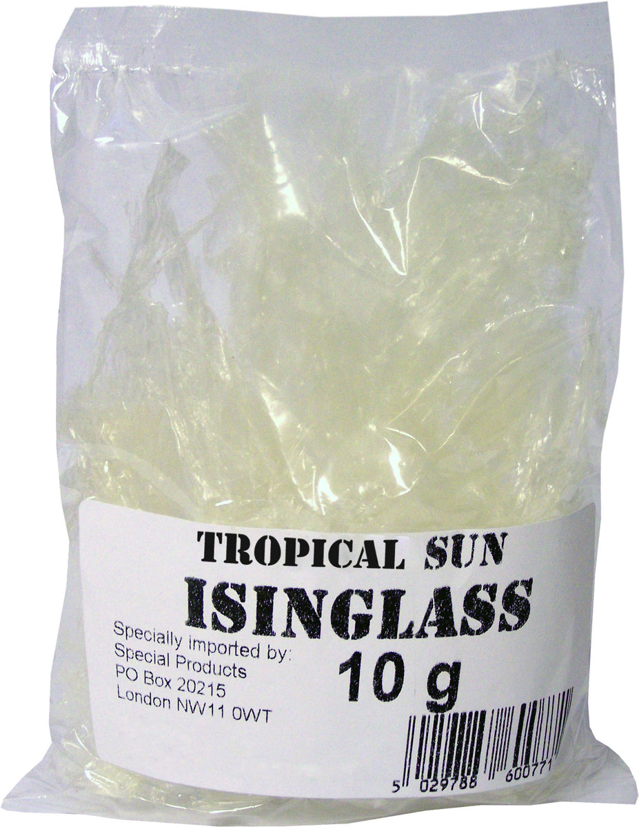 Tropical Sun Isinglass Packet 10g