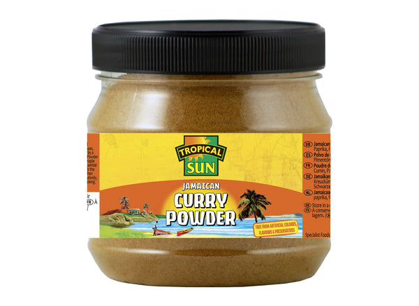 Tropical Sun Jamaican Curry Powder Tub 100g