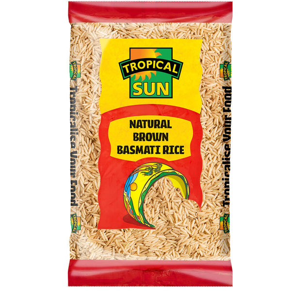 Natural Brown Basmati Rice