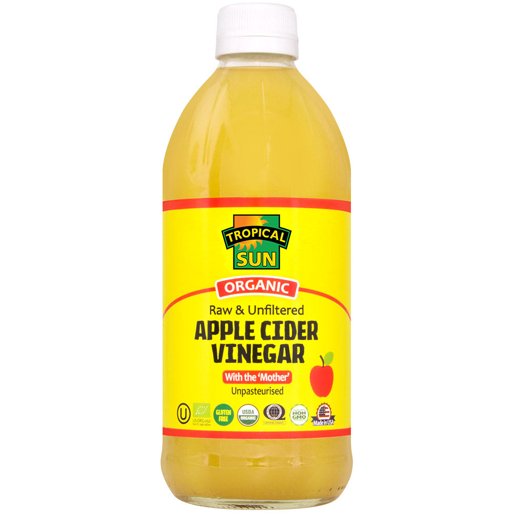 Apple Cider Vinegar - Organic, Raw & Unfiltered
