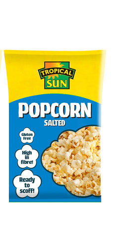 Tropical Sun Popcorn - Salted Carton 90g