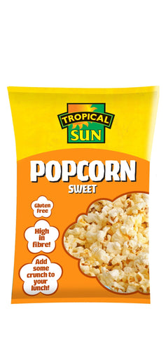 Tropical Sun Popcorn - Sweet Carton 90g