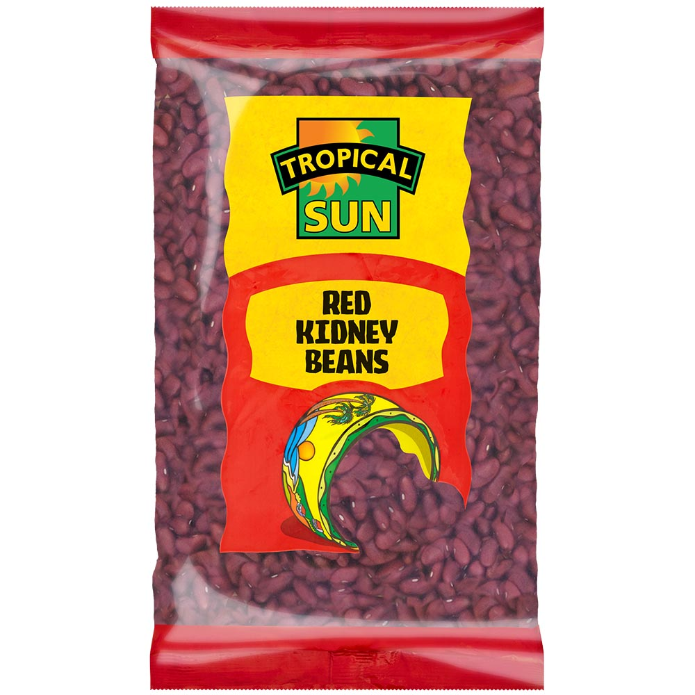 Tropical Sun Red Kidney Beans Dry Packet 500g
