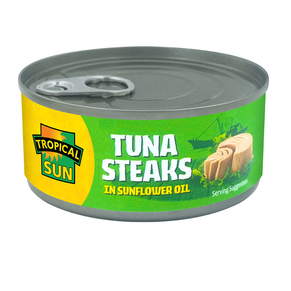 Tuna Steaks in Sunflower Oil