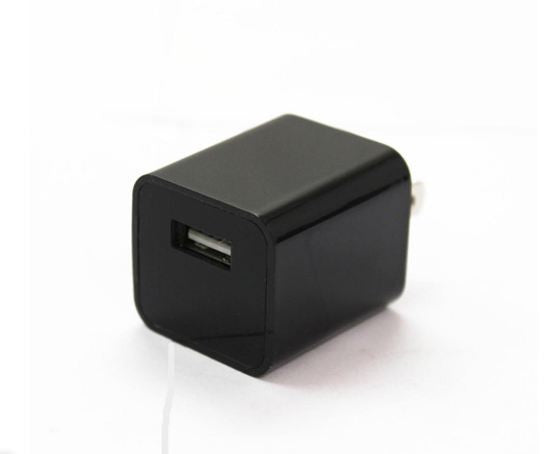 Mini AC Adapter USB Pen Charger Spy Cam