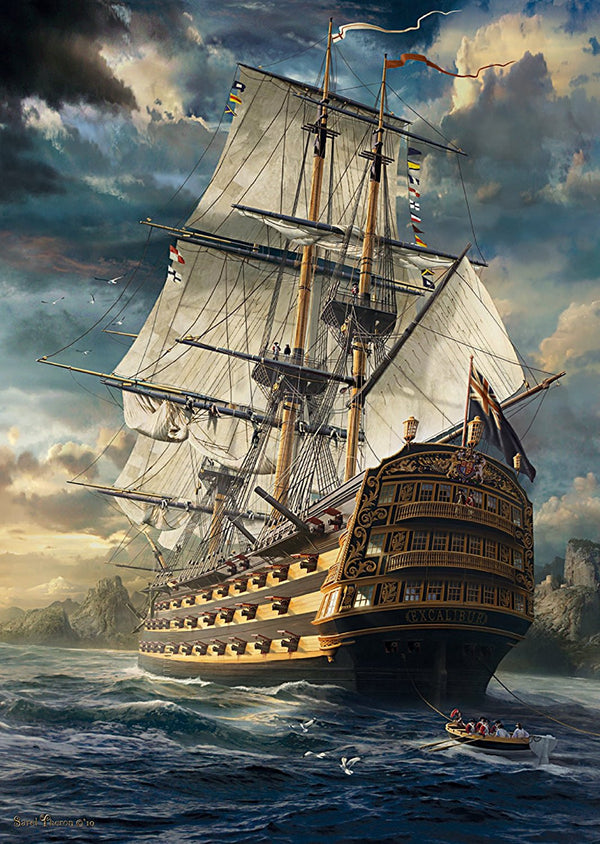 Sails Set 1000 Piece Puzzle