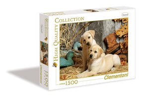 Hunting Dogs 1500 Piece Puzzle  - Galaxy Puzzles