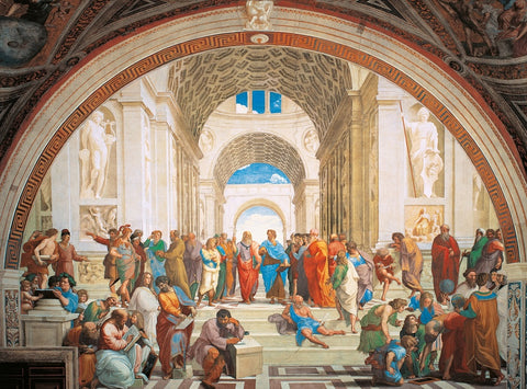 School of Athens 500 Piece Jigsaw Puzzle