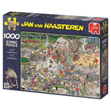The Zoo 1000 Piece Puzzle  - Galaxy Puzzles