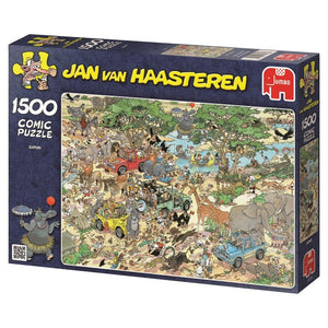 Safari 1500 Piece Puzzle  - Galaxy Puzzles