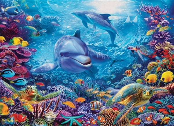 dolphins-at-play-puzzle