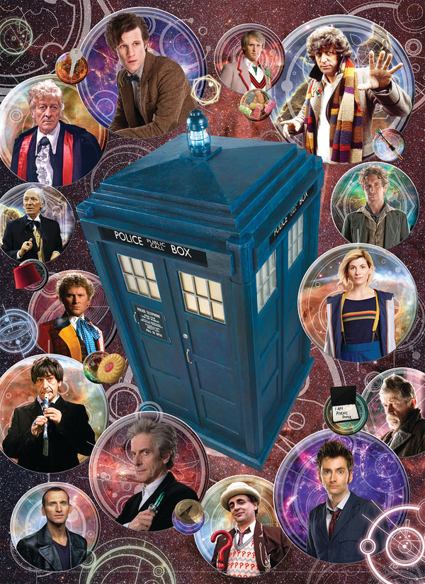 Doctor Who 1000 Piece Puzzles (choice of three puzzles)