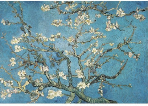 Almond Blossom Vincent van Gogh Puzzle (3 sizes: 40, 250 and 500 pieces)