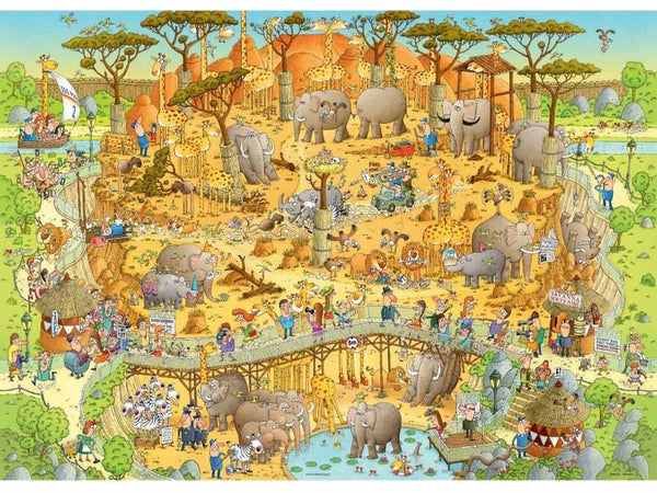 Funky-Zoo-African-Habitat-Puzzle