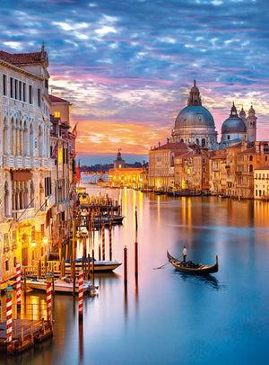 Lighting Venice 500 Piece Jigsaw Puzzle  - Galaxy Puzzles