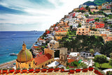 Pictorial Amalfitana Coast Positano Puzzle (2 sizes: 40, 250 pieces)  - Galaxy Puzzles