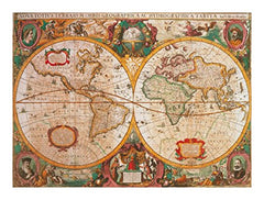 Antique Map 1000 Piece Puzzle