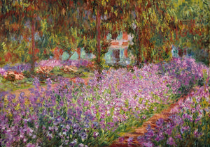 artist's-garden-at-giverny-puzzle