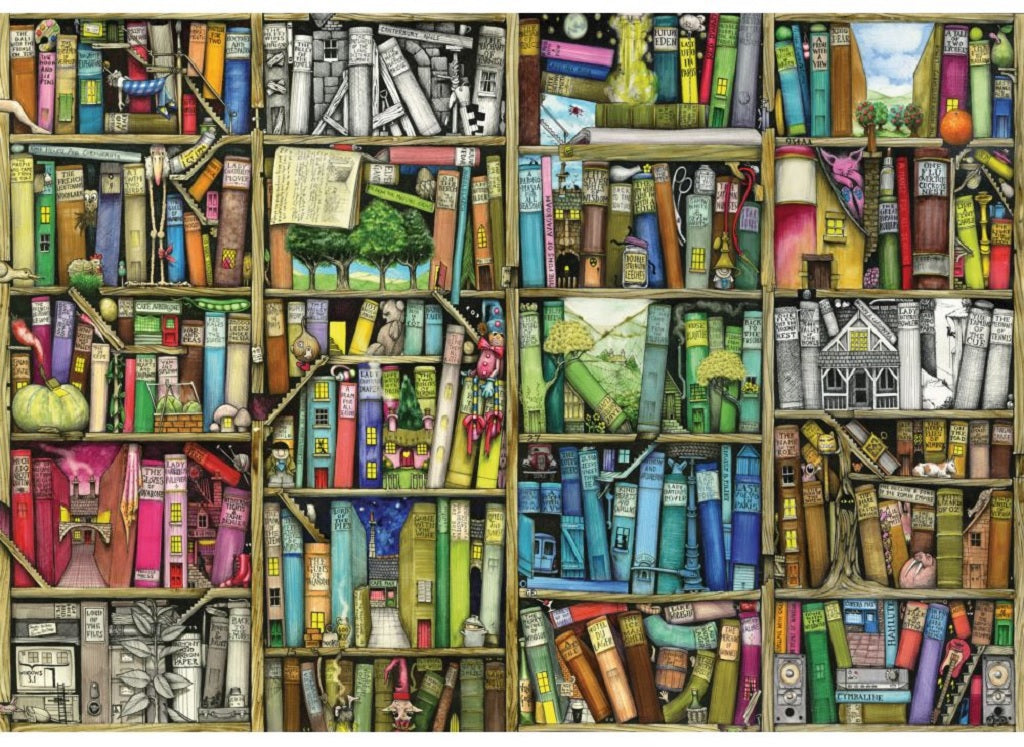 Bookshelf (3 sizes: 40, 250 and 500 pieces)  - Galaxy Puzzles