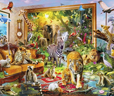 Coming to Life Puzzle (3 sizes: 40, 250 and 500 pieces)