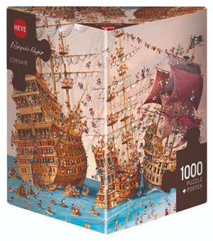Corsair 1000 Piece Puzzle  - Galaxy Puzzles