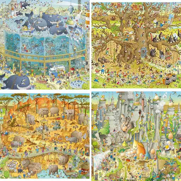 funky-zoo-selection-of-puzzles