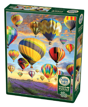 Hot Air Balloons 1000 Piece Puzzle  - Galaxy Puzzles