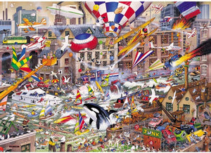 I Love 1000 Piece Mike Jupp Puzzles (choice of images)