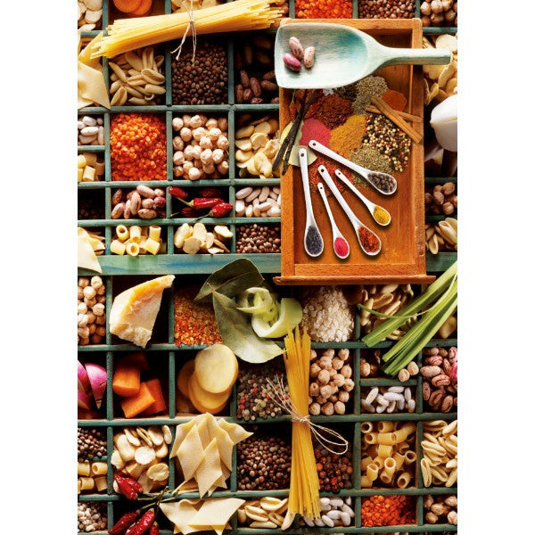 Kitchen Potpourri 1000 Piece Puzzle  - Galaxy Puzzles