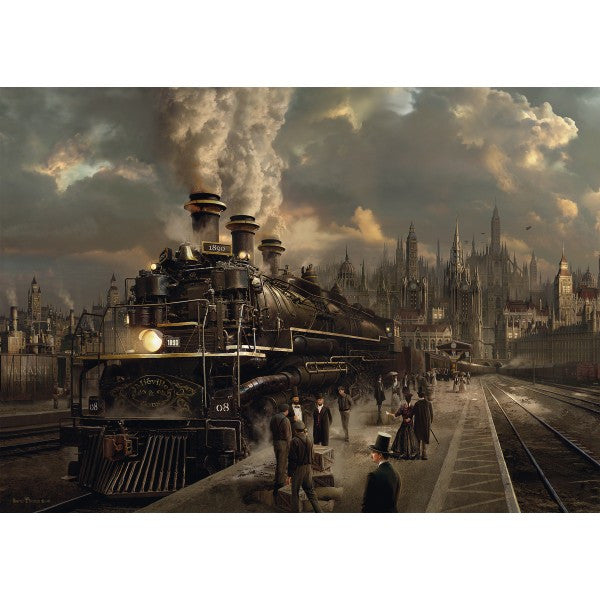 Locomotive 1000 Piece Puzzle  - Galaxy Puzzles