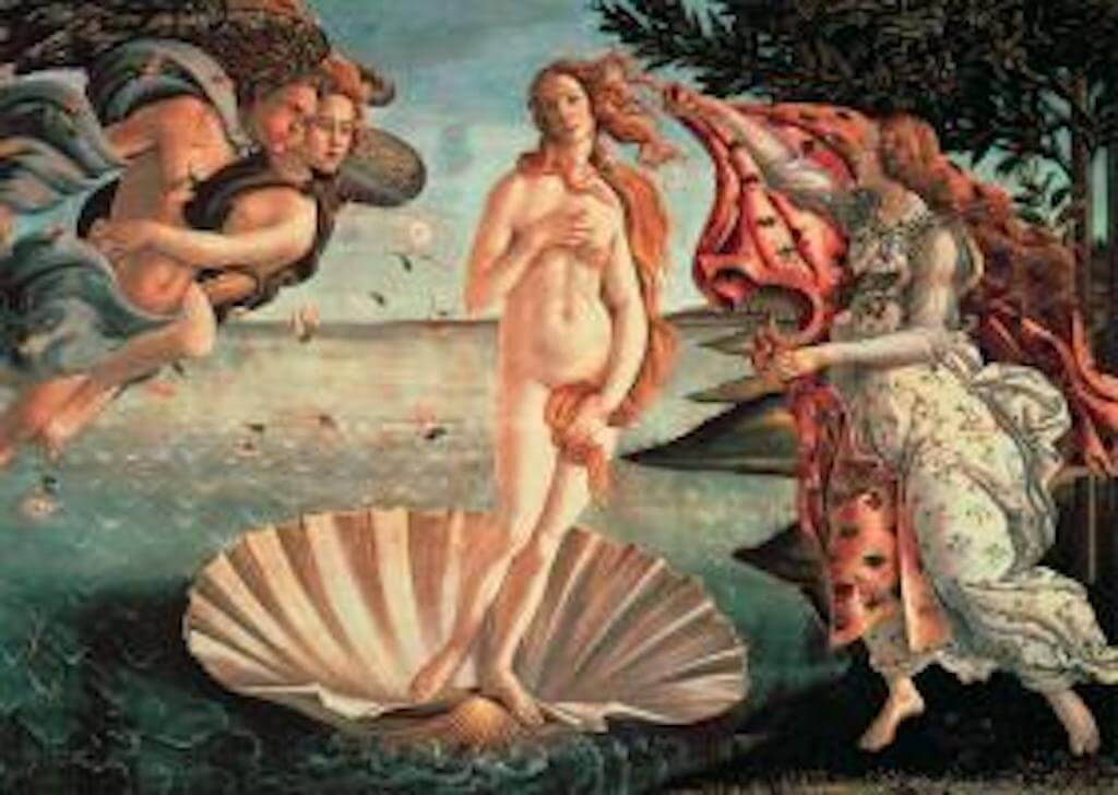 the-birth-of-venus-mini-puzzle