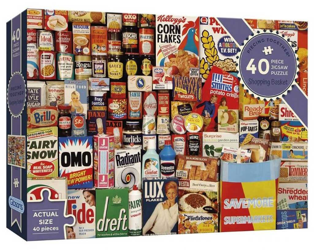 Shopping Basket 40 Piece Puzzle