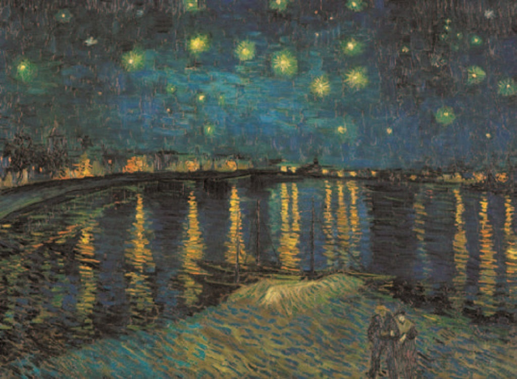 Starry Night Over the Rhone  1000 Piece Puzzle