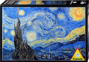 Starry Night 1000 Piece Puzzle  - Galaxy Puzzles