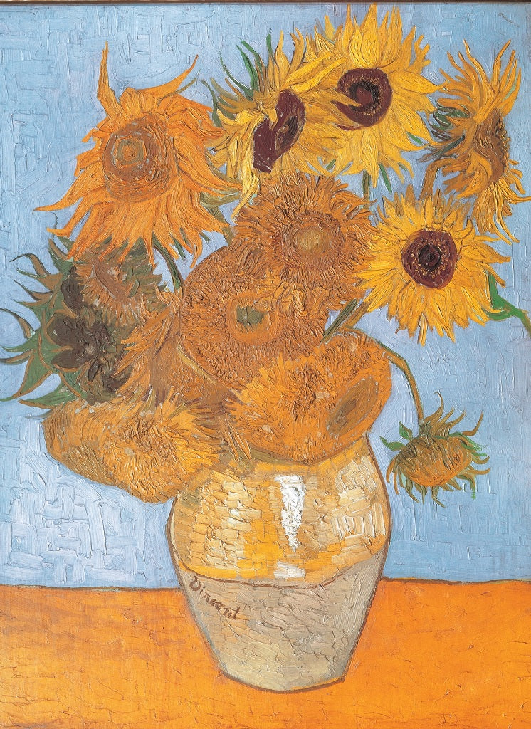 Sunflowers 1000 Piece van Gogh Puzzle  - Galaxy Puzzles