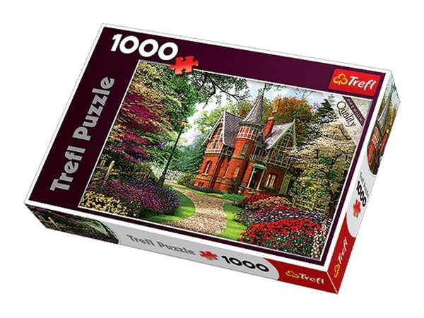 Victorian Cottage 1000 Piece Jigsaw Puzzle  - Galaxy Puzzles