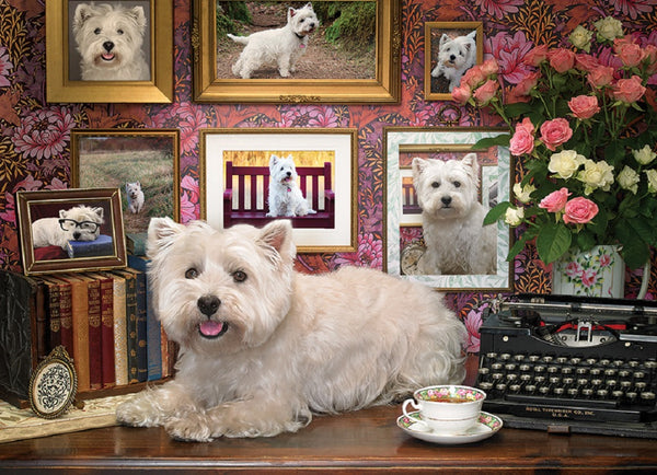 Westies Are My Type 1000 Piece Puzzle  - Galaxy Puzzles