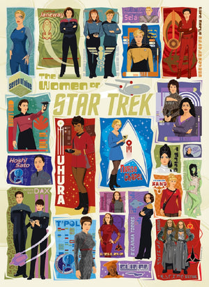 Star Trek 1000 Piece Puzzles (choice of five puzzles)