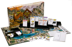 Woods & Water: The Hunting & Fishing Adventure Board Game  - Galaxy Puzzles