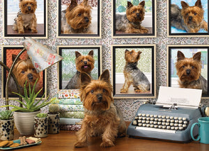 Yorkies Are My Type 1000 Piece Puzzle  - Galaxy Puzzles