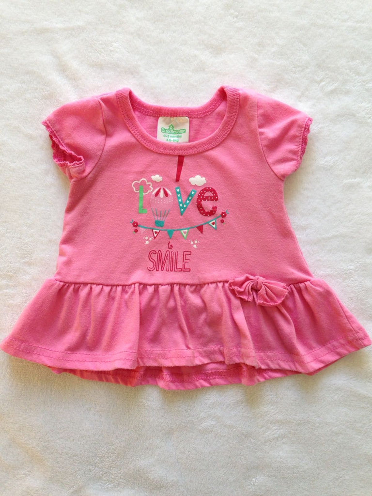 Pink Baby Top (0-3)