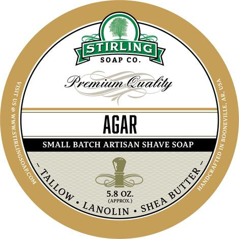 Stirling Shave Soap Agar