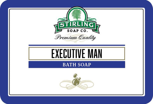 Stirling Bath Soap Excutive Man