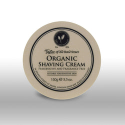 Taylor of Old Bond Street Shave Cream Pot Organic