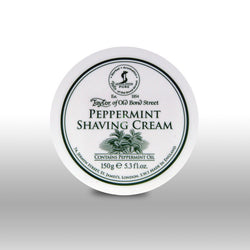 Taylor of Old Bond Street Shave Cream Pot Peppermint