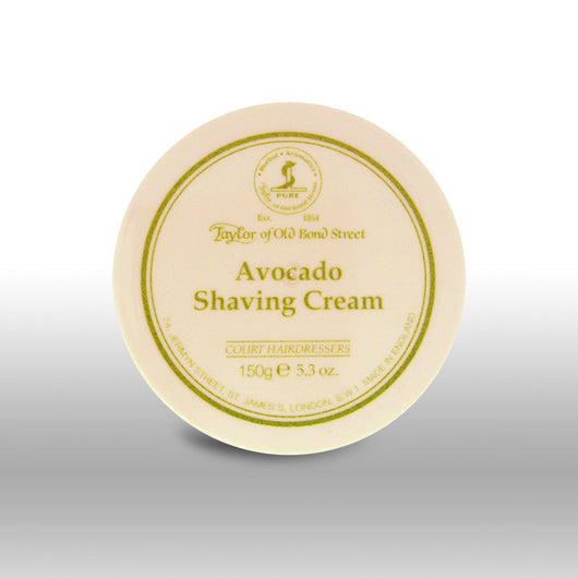 Taylor of Old Bond Street Shave Cream Pot Avocado