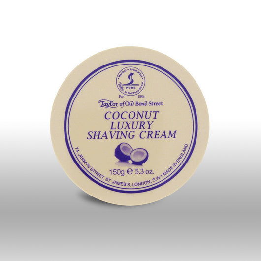 Taylor of Old Bond Street Shave Cream Pot Coconut
