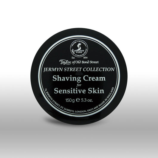 Taylor of Old Bond Street Shave Cream Pot Jermyn Street For Sensitive Skin
